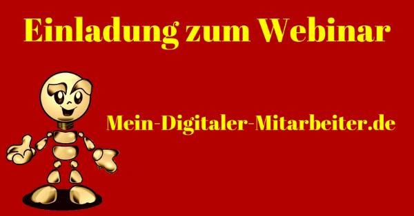 Webinareinlaung Mein Digitaler Mitarbeiter-min