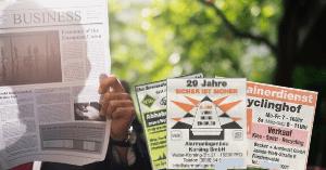 Neukunden gewinnen mit Zeitungsanzeigen