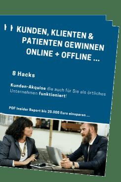Neukunden, Klienten u. Patienten gewinnen